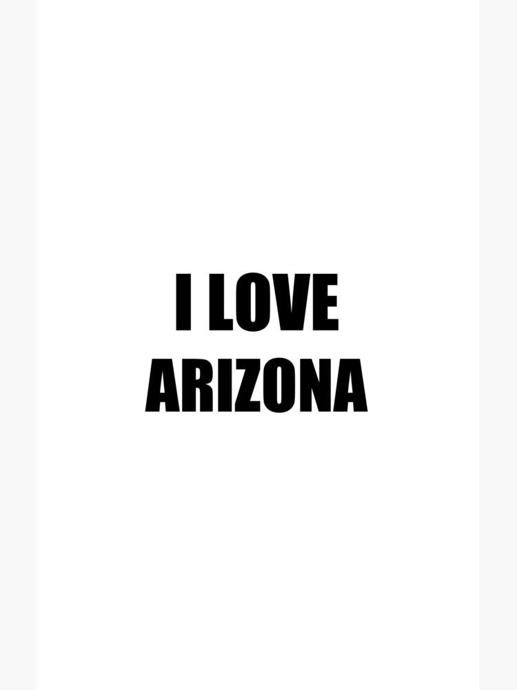 I Love Arizona Funny Gift Idea von FunnyGiftIdeas
