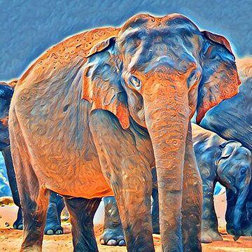 Warm Elephant by Hgomez84