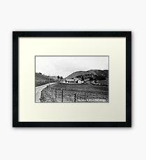 Glenshee School, Perthshire Framed Print