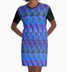 3D Stereogram - Luv u Dad Graphic T-Shirt Dress