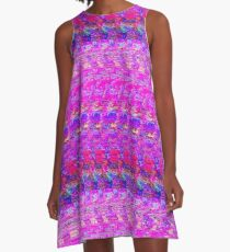3D Stereogram - It's A Girl A-Line Dress