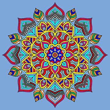 Love Mandala by tqueen