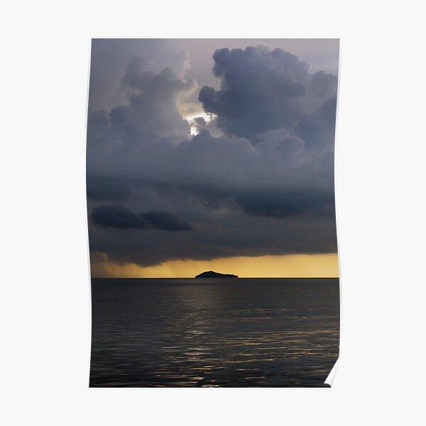 Squall over Dadda Hai Island Poster