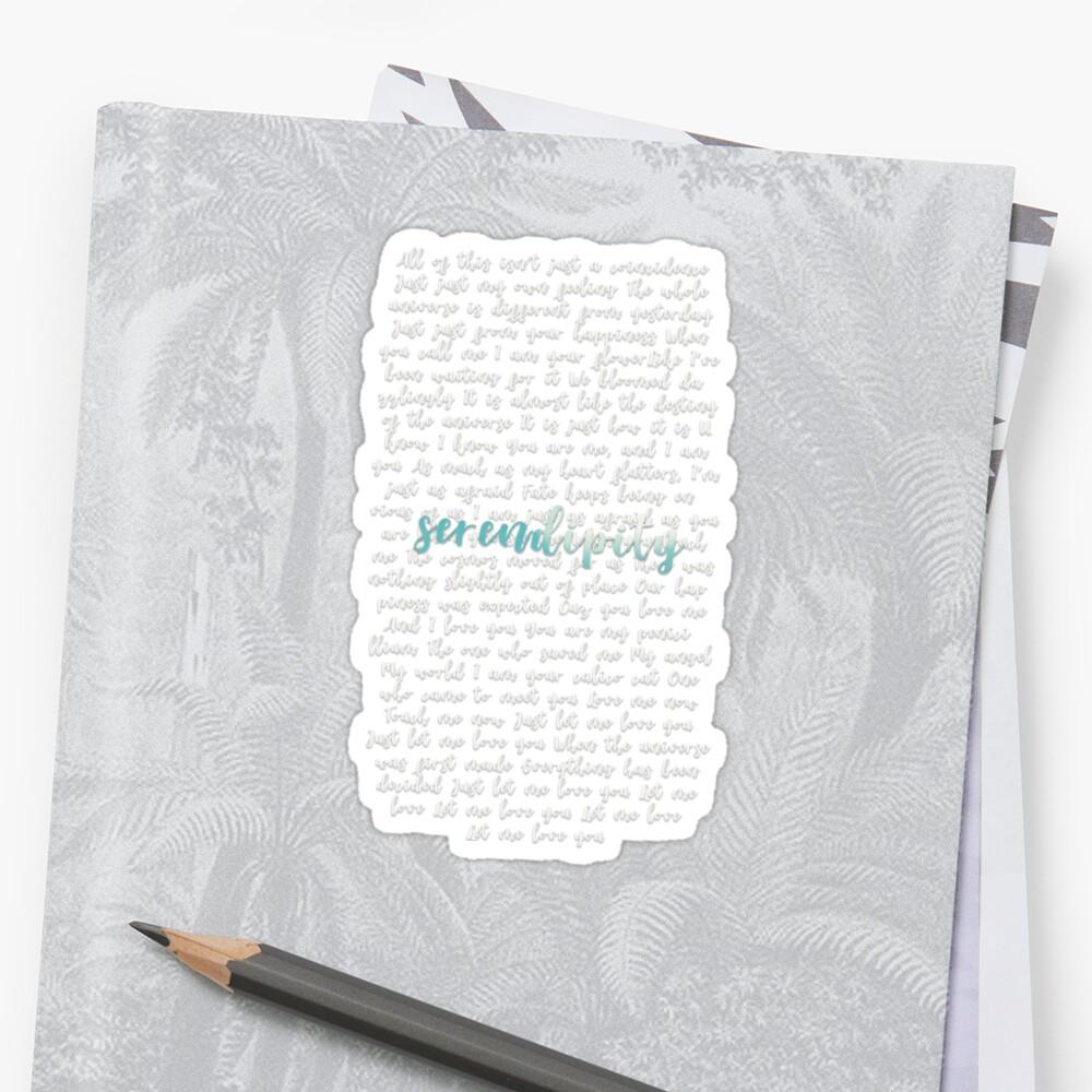Jimin Serendipity Lyrics - 0425