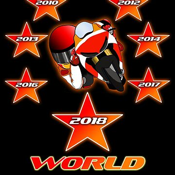 Marc Motogp 2018 World Champion by ideasfinder