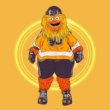 Gritty  the flyers mascot by MimieTrouvetou