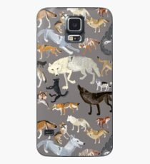 Wolves of the world - Grey Funda/vinilo para Samsung Galaxy