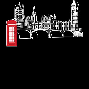 Union Jack Big Ben London Gift by Reutmor
