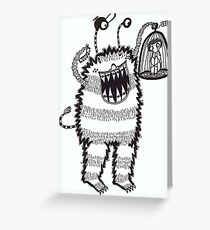 My New Pet, Spike Greeting Card