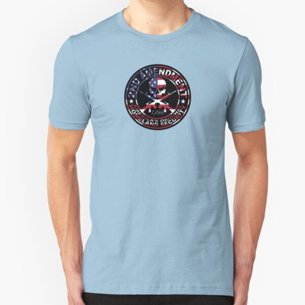 2nd Amendment.  Slim Fit T-Shirt