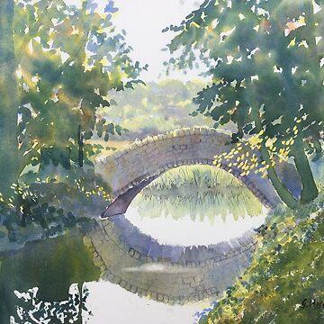 Bridge over Gypsy Race by treeman