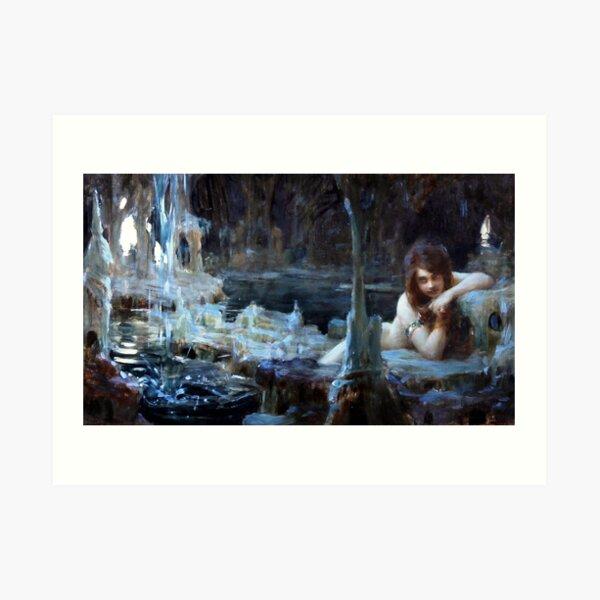 Young Naiad - Paul Emile Chabas Art Print
