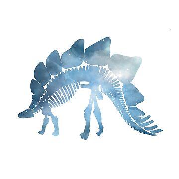 Stegosaurus - Dinosaur Skeleton by GwendolynFrost