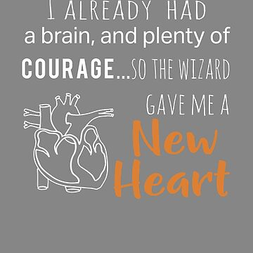 Top New Heart Transplant Courage Wizard Design by LGamble12345
