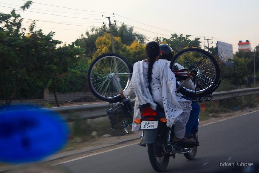 New Bicycle by Indrani Ghose