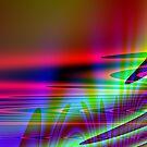Alien sunset by mindgoop