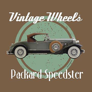 Vintage Wheels - Packard Speedster by DaJellah