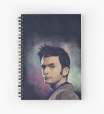 David Tennant Spiral Notebook