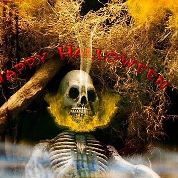 Skull Halloween  by imagetj