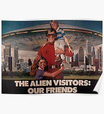 V die Besucher: Unsere Freunde Poster