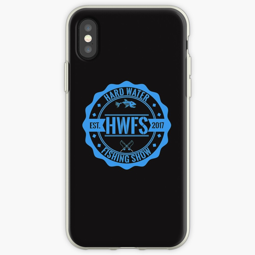 Hard Water Fishing Show - Merch iPhone Case & Cover