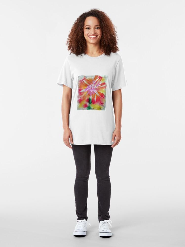 Alternative Ansicht von Batik 2 Slim Fit T-Shirt