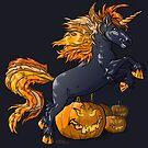 « La licorne maléfique d'Halloween. » par Stylet-Pinceau