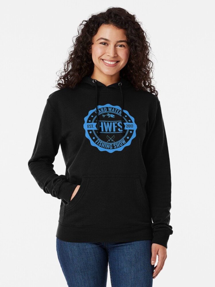 Alternate view of Hard Water Fishing Show - Merch Lightweight Hoodie