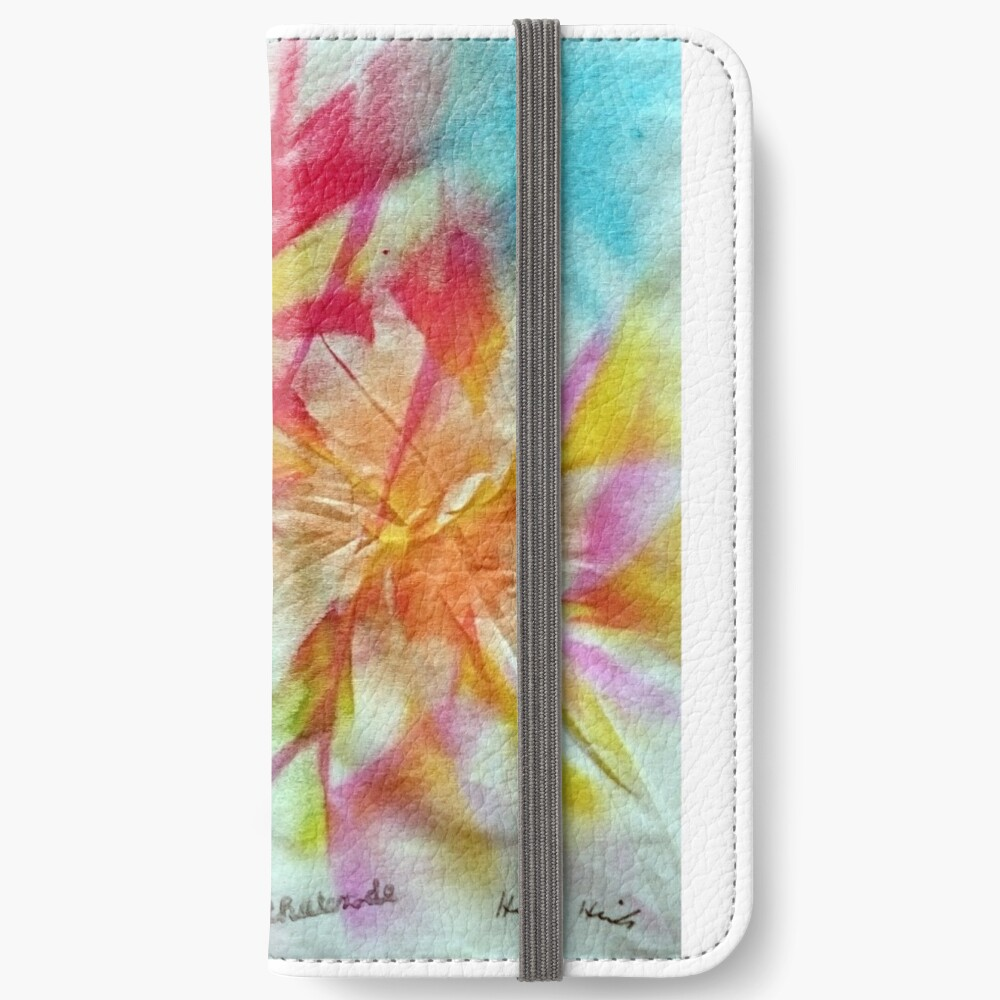 Batik 3 iPhone Flip-Case