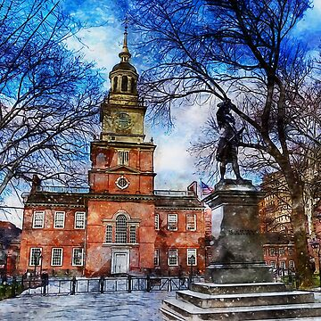 Philadelphia Independence Hall by ErianAndre
