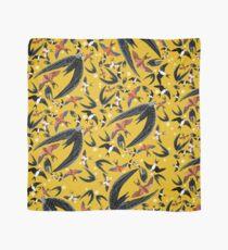 Pañuelo Swallows and swift pattern (Yellow)