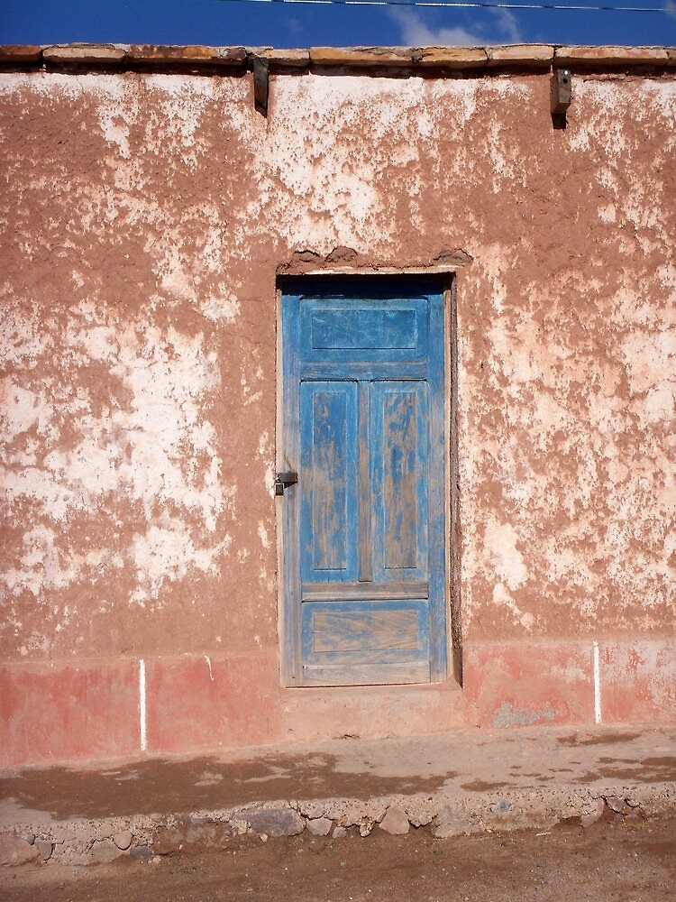 Blue Door by Vonnstar