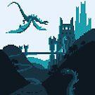 Dragon Keep pixel art by Sev4