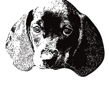 Dachshund Face Design - A Doxie Christmas Gift by DoggyStyles