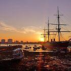 Portsmouth HMS Warrior  by Zoe Harmer