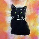 Bild schwarze Katze von Gourmetkater