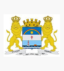 The Coat of Arms of Recife Photographic Print