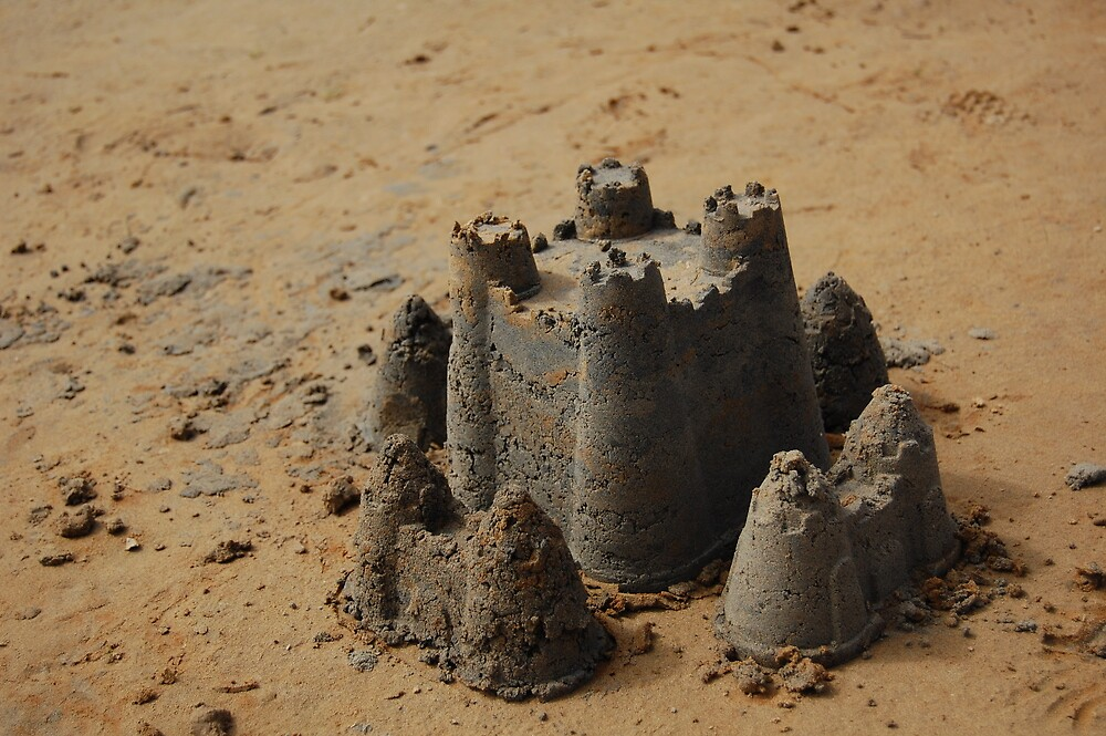 Sand castle by Andrew Hennig