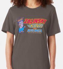 ZALINSKY King of Auto Parts (2) Slim Fit T-Shirt