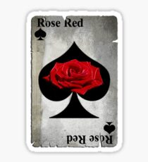 Rose of Spades Sticker
