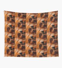 Bears Fishing on a Waterfall Wall Tapestry