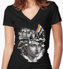 Urbanite Women's Fitted V-Neck T-Shirt