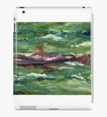 Red Shark Number One iPad Case/Skin