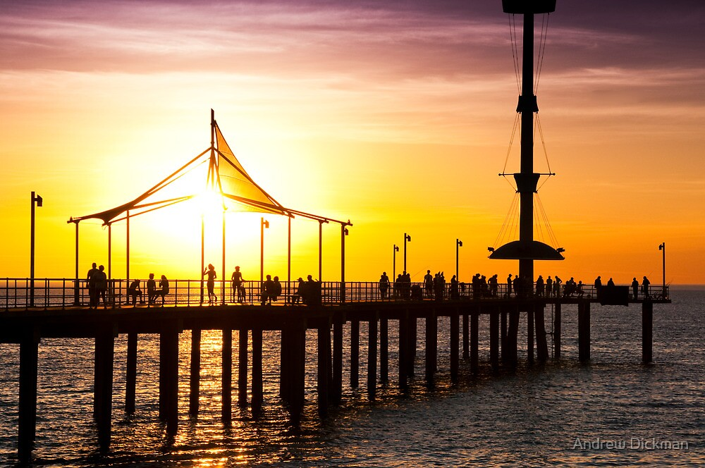 Brighton in heat by Andrew Dickman