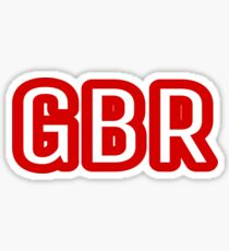 GBR  Sticker