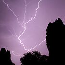 Purple Lightning by JoeDavisPhoto