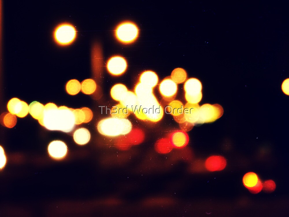 Highway Bokeh by Th3rd World Order