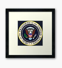 Seal of the President of the United States Framed Print