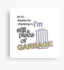 Piece of Garbage Metal Print