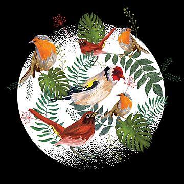 Colourful Birds by soondoock
